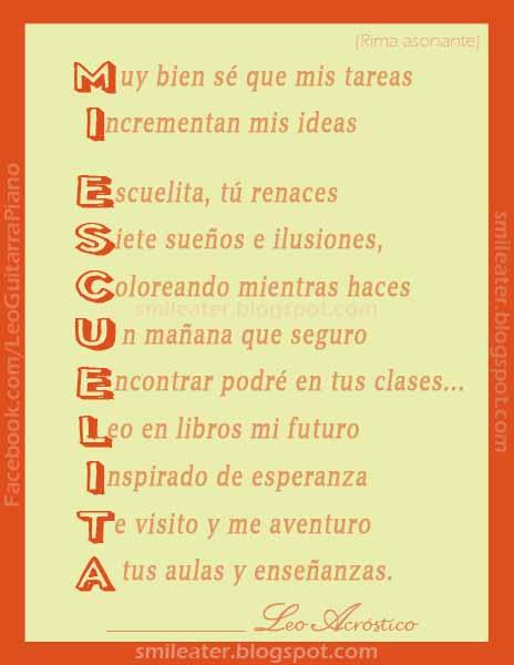 Poemas Rimas Para Ninos En Espanol