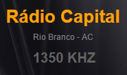 Rádio Capital AM 1350 de Rio Branco