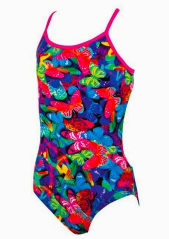 Zoggs Girls Toggs Wings Bella Swim Suit