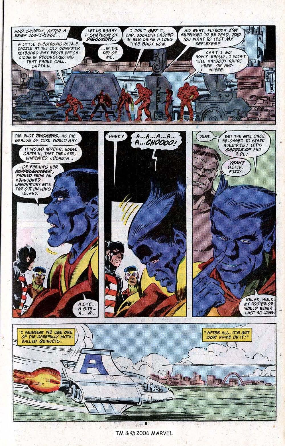Captain America (1968) Issue #348c #280 - English 11