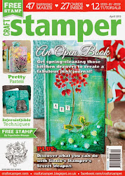 Proud to be Published in Craftstamper