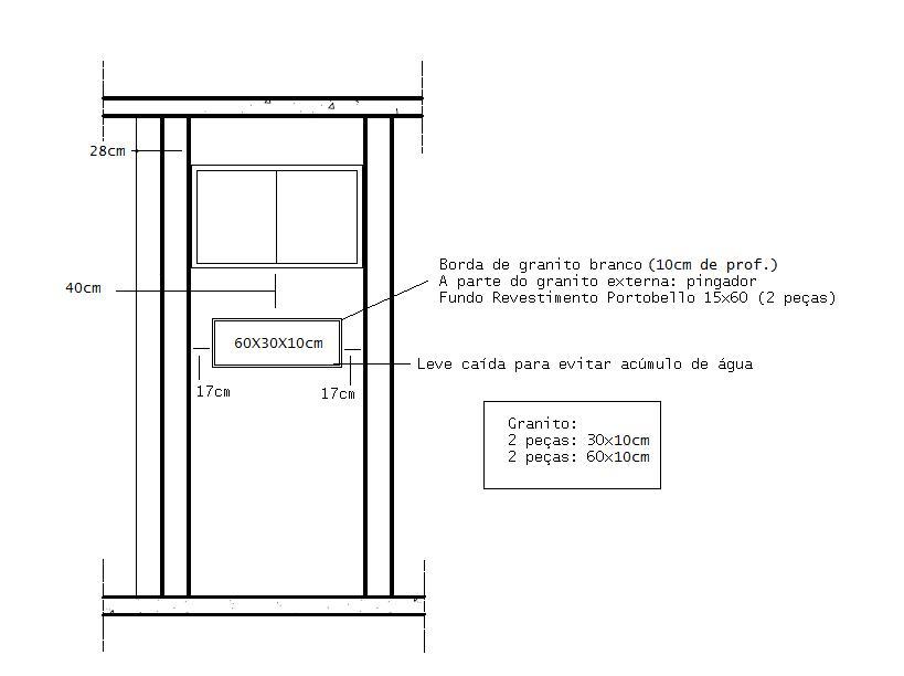 Reforma lá de casa Adeus Valentino! -> Nicho Banheiro Box Medidas