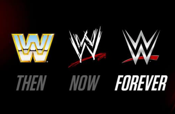 Logos Old School WWE Network WWF Change