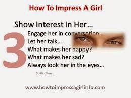 How To Impress A Girlfriend, Do You Know?