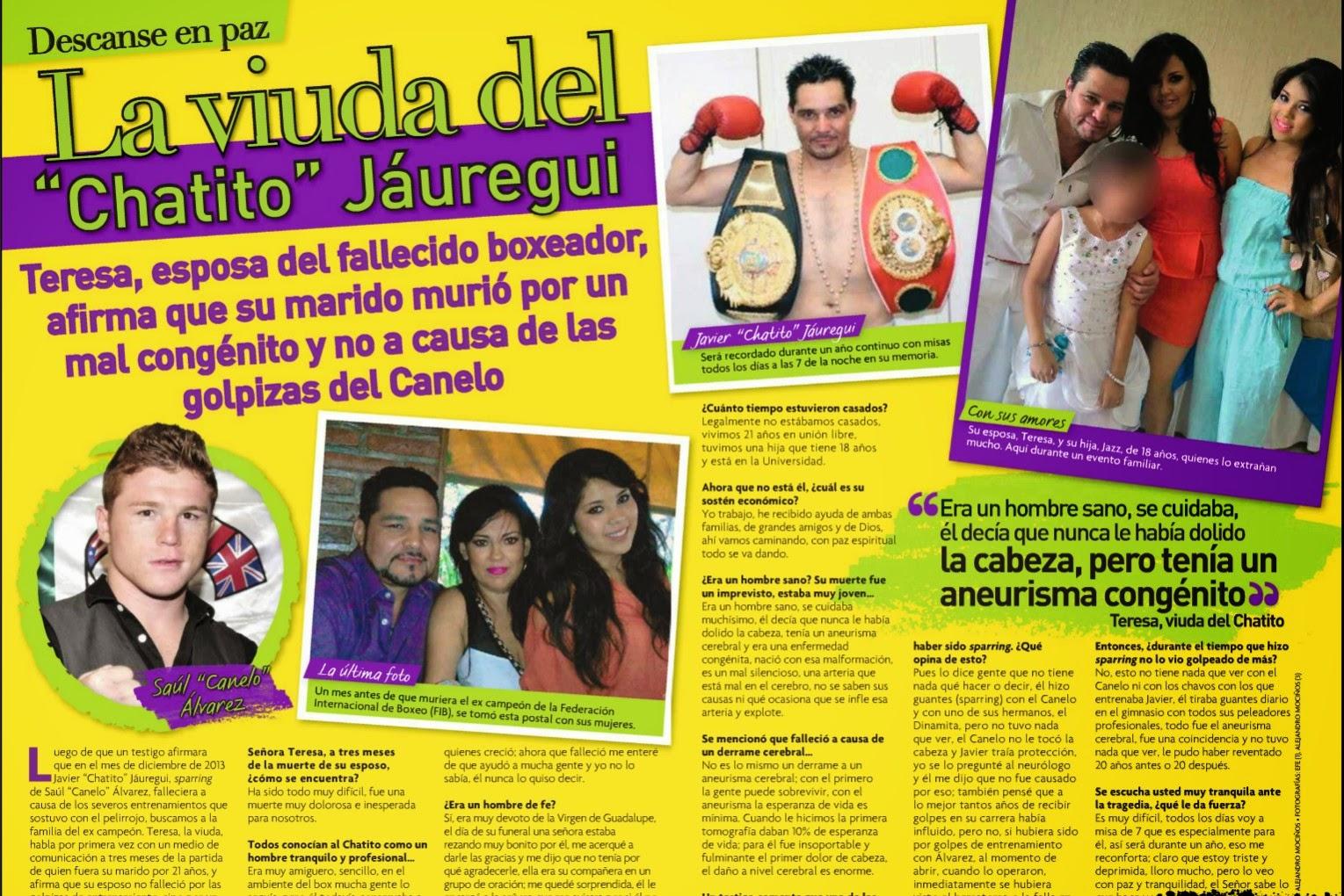 """Saúl """"El Canelo"""" Álvarez deja Televisa"""