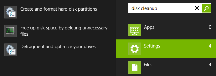 Free Up Disk Space By Deleting Unnecessary files