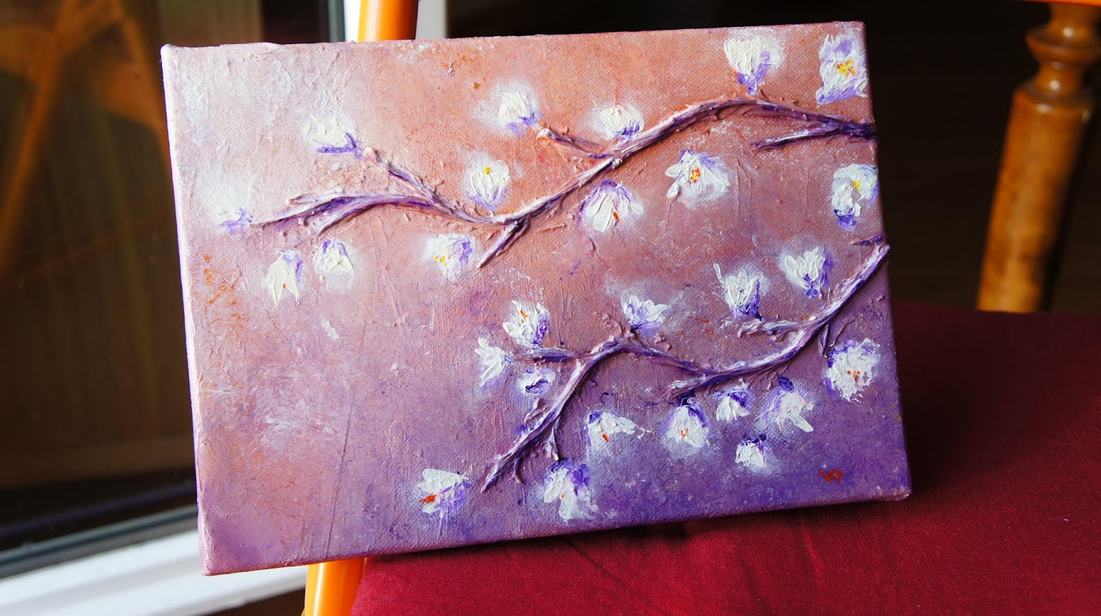 Branches 2 abstractions - Tableau peinture acrylique moderne ...