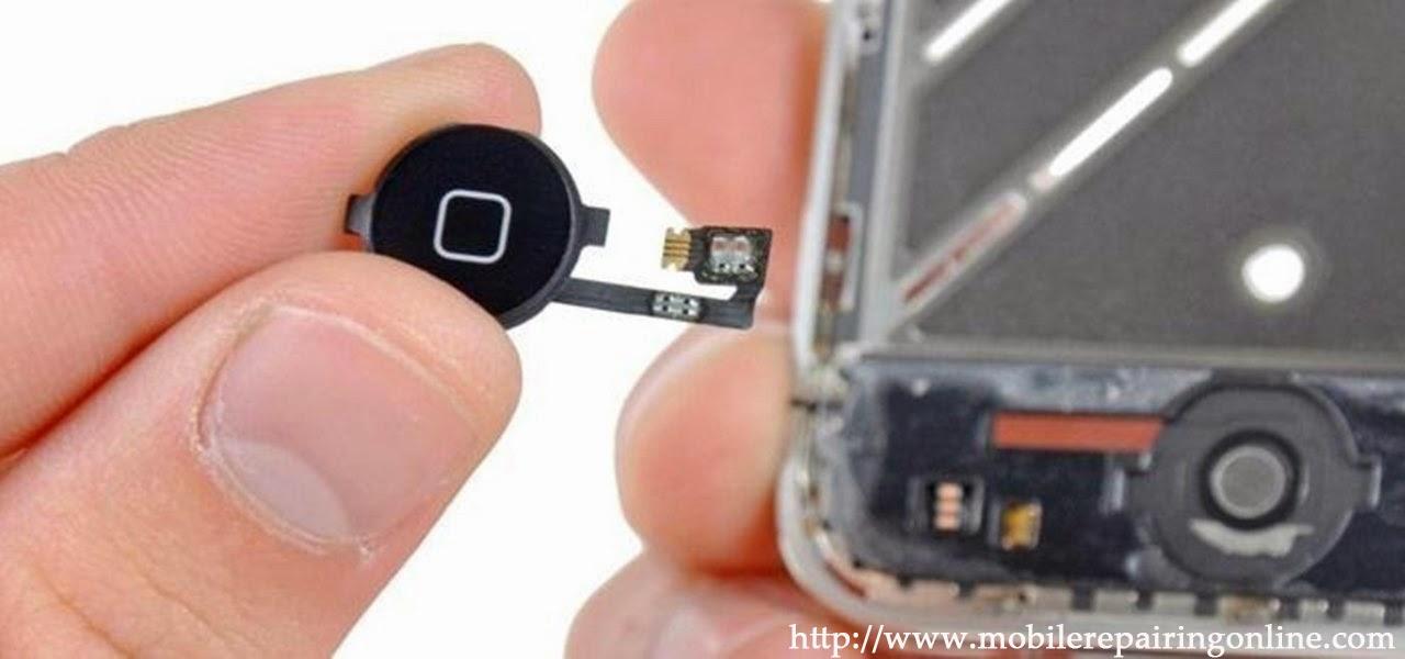 fixing iphones broken home button