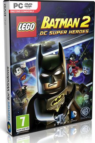 Lego Batman 2 DC Super Heroes PC Full Español Descargar DVD56