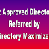 Instant Approved Directory List | Referred by Directory Maximizer