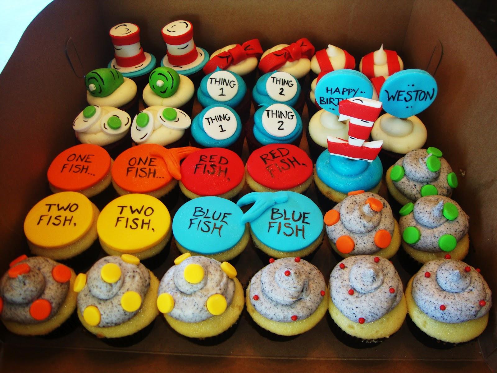 Cake Obsessions Dr Seuss Cupcake Craze
