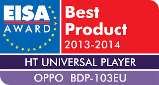 Eisa Award Best Product 2013-2014 Oppo BDP-103EU