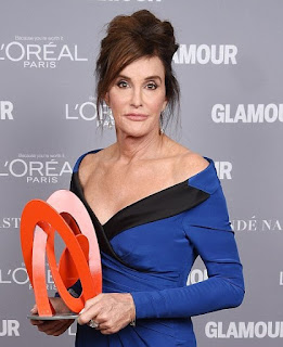 'This is why God put me on Earth': Transgender Caitlyn Jenner wins Glamour Woman of the Year Award