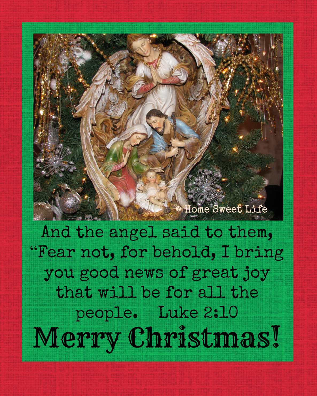 Merry Christmas Luke 2:10