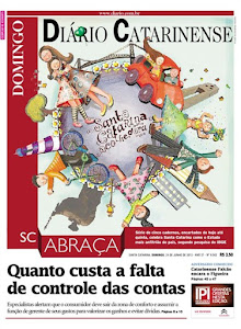 Capa Dirio Catarinense!