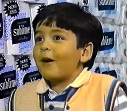 Propaganda bem humorada do Papel Higiênico Sublime, em 1992.