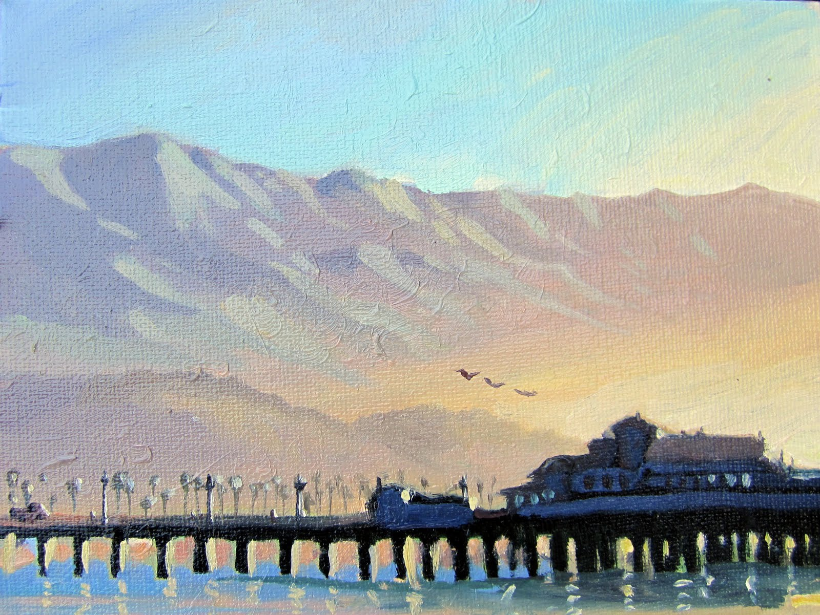 Quot Postcards From Santa Barbara Quot A Daily Painting Project By