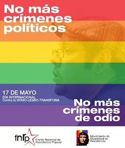 NO MAS CRIMENES DE ODIO