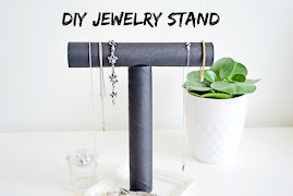 DIY - Stojak na Biżuterię