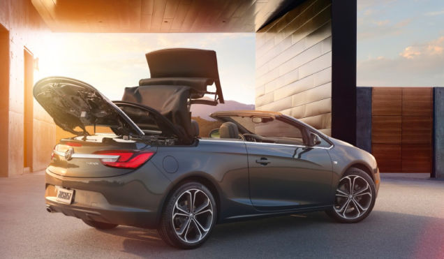 2015 Buick car price list back view