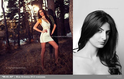 Miss Armenia Hayastan Միսս Հայաստան 2012 Nare Zakarian