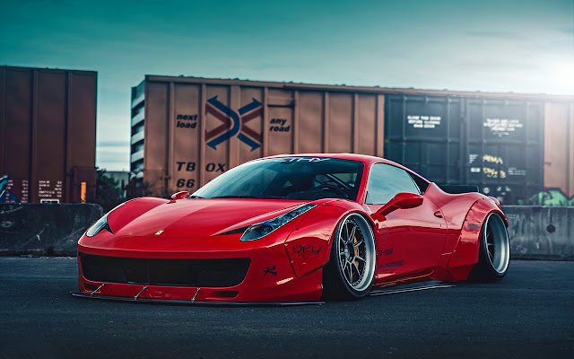 Ferrari 458 Liberty Walk2
