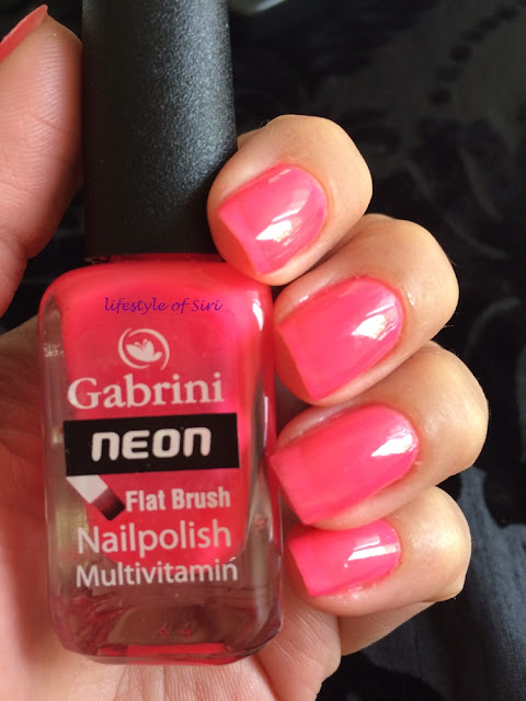 Gabrini Neon Pembe Oje N01