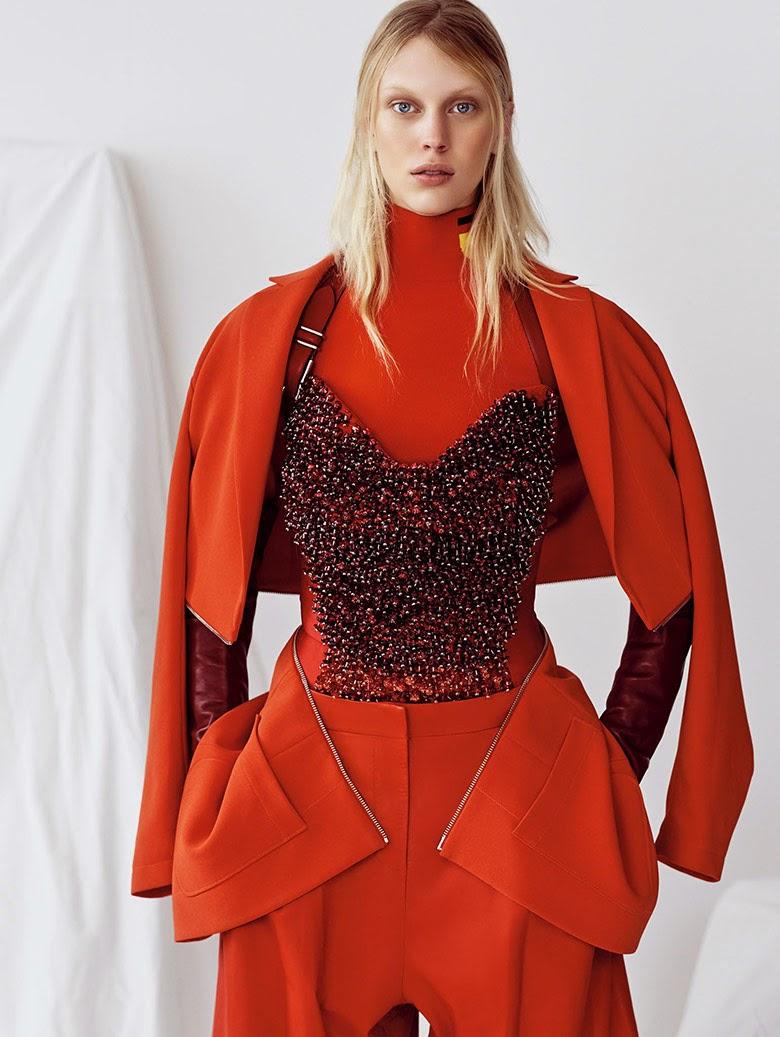 Fashion Model @ Juliana Schurig - Vogue China, May 2015