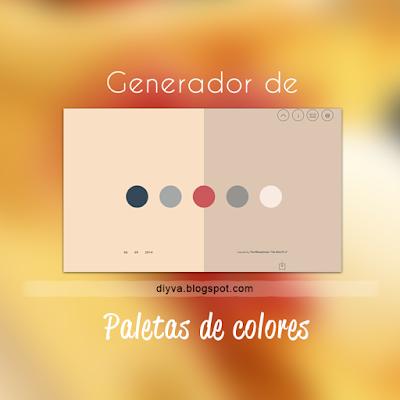 thedayscolor, colores, generador, paletas, web, free