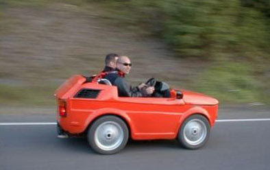 Damn Cool Cars: funny little red car