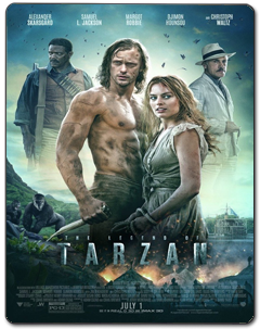 A Lenda de Tarzan Torrent (2016) – BluRay 3D / 1080p / 720p Dublado 5.1 Download