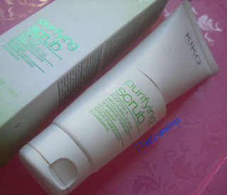 kiko purifying scrub