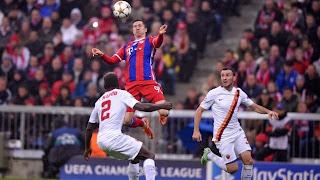 Hasil Liga Champion Tadi Malam: Bayern Munchen vs AS Roma 2-0