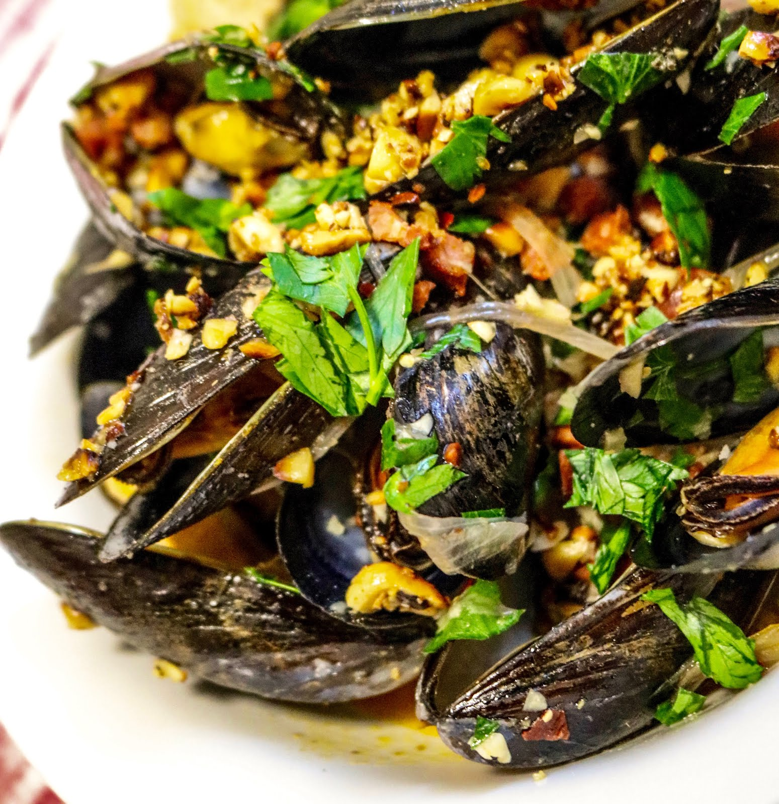 Three Little Figs : Beer-Steamed Mussels with Chorizo and ...