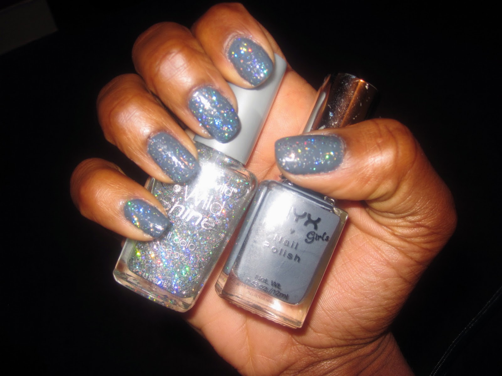 Manicure Mondays - Holiday Sparkle - The Gabe Fix by Gabrielle Flowers