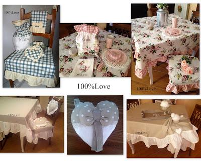 100 love progetti 2012 - Coordinati cucina country ...