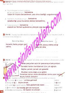 8.Sinif Turkce Enderun Yayinlari Calisma Kitabi Cevaplari Sayfa 56
