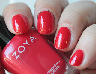 Zoya Focus Collection swatches and review Hannah