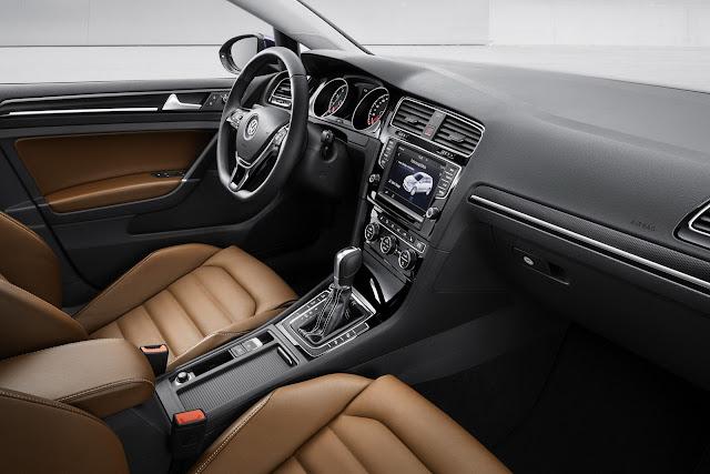Novo Volkswagen Golf 2013 - por dentro