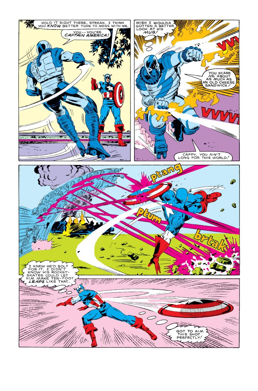 Captain America (1968) Issue #318 #246 - English 16