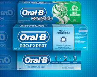 Amostras Grátis Oral-B