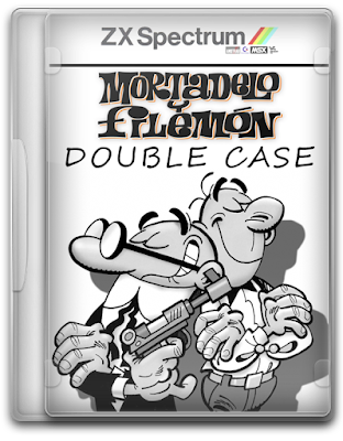 Mortadelo y Filemon Double Case