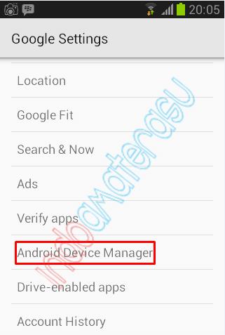 Langkah-langkah mengaktifkan Android Device Manager 2
