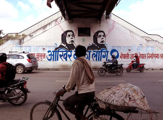 street art by stinkfish in nepal 6