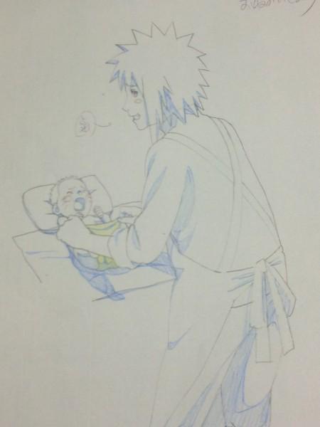 Sketsa Minato di NS Movie 6