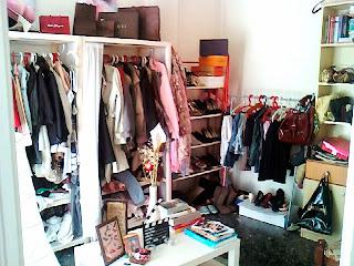 My closet , my shelter