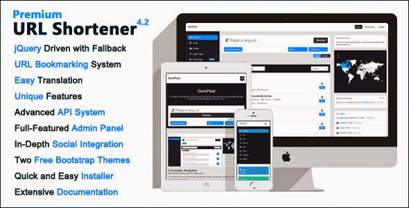 Download Premium URL Shortener V 4,2 WordPress Plugin Free Nulled