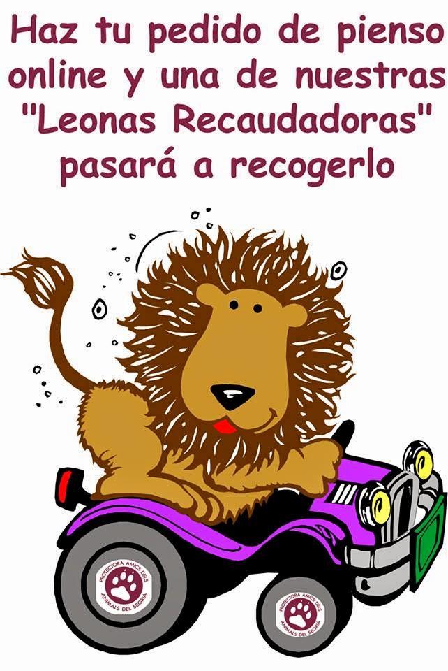 AYÚDALES SIN MOVERTE DE CASA!! COMPRANDO PIENSO ONLINE PARA LOS PELUDOS DE LA PROTE!!