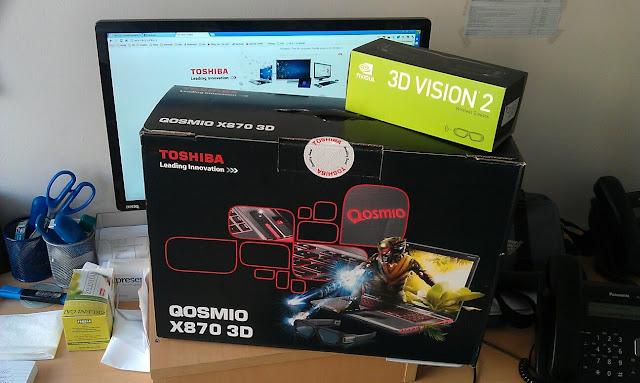 Toshiba Qosmio X870 3D