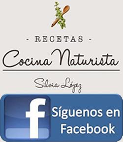Página Facebook de Recetas Naturistas